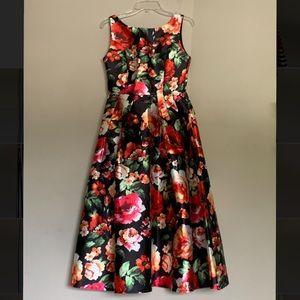 New Chicwish retro blossom sleeveless dress.